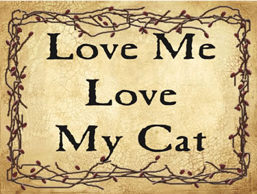 Love Me Love My Cat