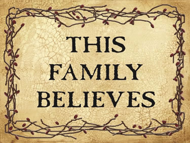 This Family Believes