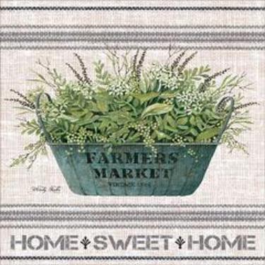 Galvanized Farmer's Market- Home Sweet Home