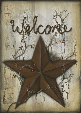 Welcome Barn Star