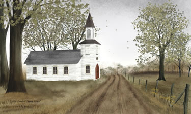 Little Country Church House