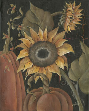 Harvest Sunflower