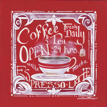 Coffee & Tea Fresh Daily