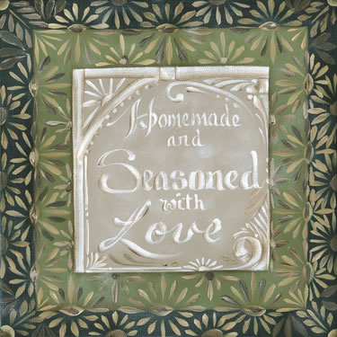 Homemade And Seasoned With Love