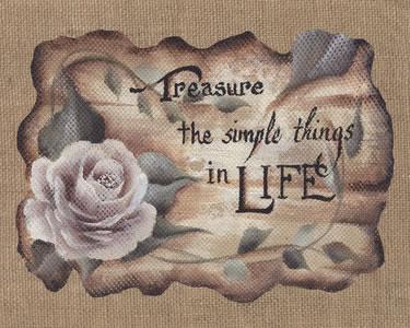 Treasure Simple Things