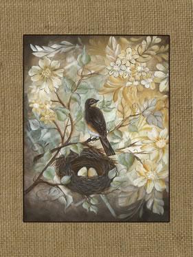 Bird Nest - Burlap