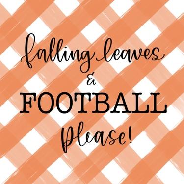Falling Leaves & Football Please