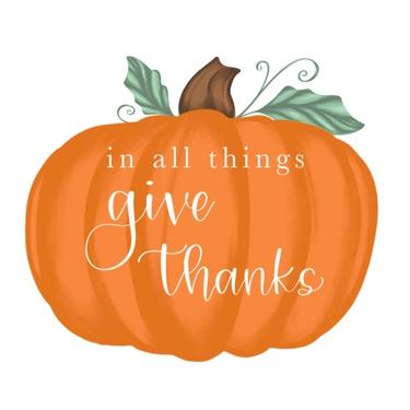 Pumpkin Give Thanks