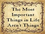 The Most Important Things in