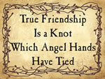True friendship Is a Knot Wh