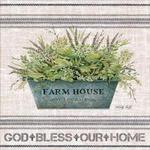 Galvanized Farmhouse God Bless