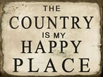 The Country Is My Happy Plac