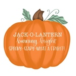 Pumpkin Jack O Lantern Burning Bright