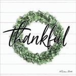Thankful Boxwood Wreath