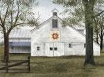 Starburst Quilt Block Barn