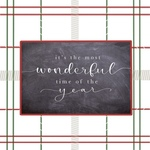 Red Green Plaid- Wonderful Time