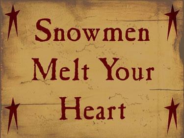 Snowmen Melt Your Heart