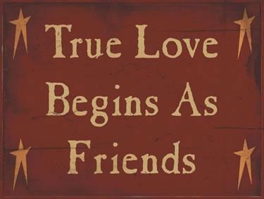 True Love Begins As Friends