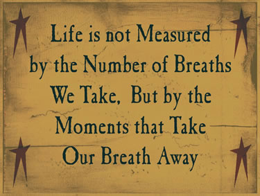 Life Is Not Measured