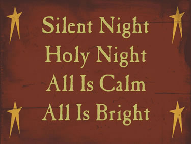 Silent Night Holy Night All Is Calm All Is Bright