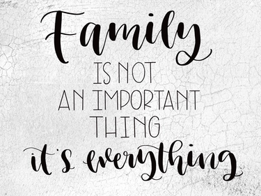 Family Is Not