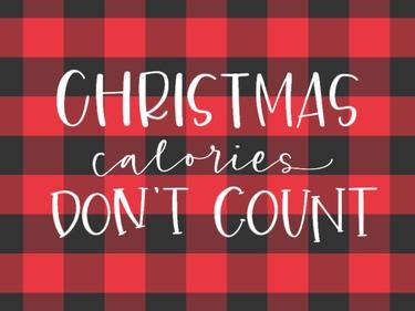 Christmas Calories