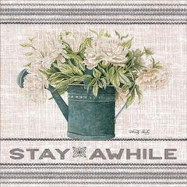 Galvanized Peonies- Stay A While