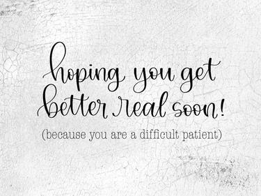 Difficult Patient