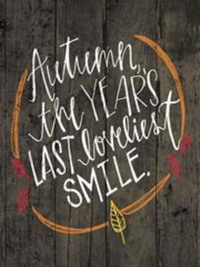 Autumn Lovliest Smile