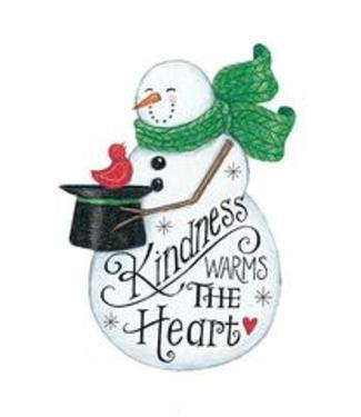 Kindness- Snowman