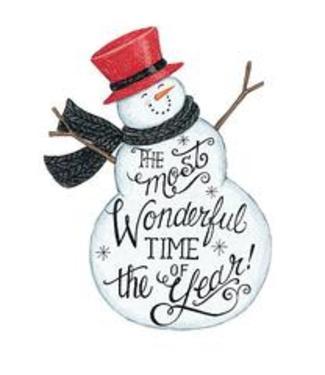 Wonderful Time- Snowman