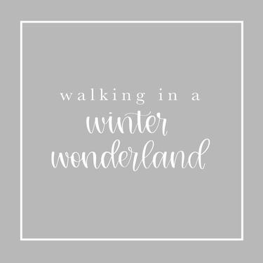 Gray Winter Wonderland