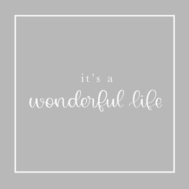Gray Wonderful Life
