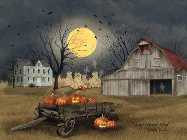 Spooky Harvest Moon