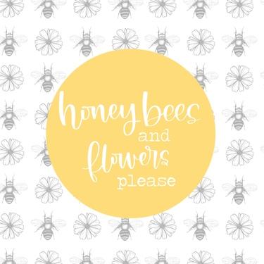 Honeybees & Flowers