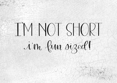 I'm Not Short I'm Fun Sized
