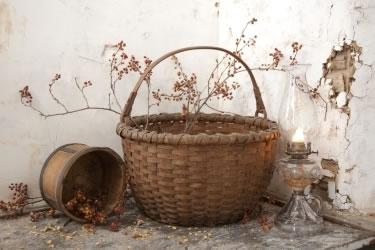 Basket Weaver's Display