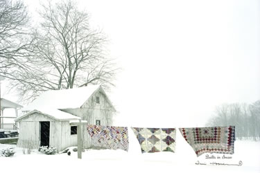 Quilts In Snow