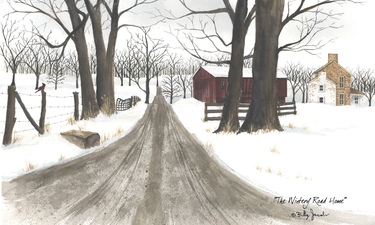 Wintery Road Home