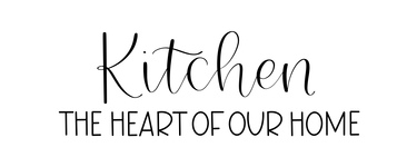 Kitchen Heart Of Our Home