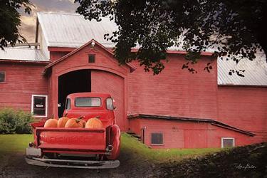 Red Pumpkin Truck