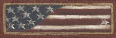 Burlap Flag