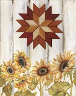 Starburst Sunflowers