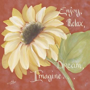 Enjoy, Relax, Dream, Imagine