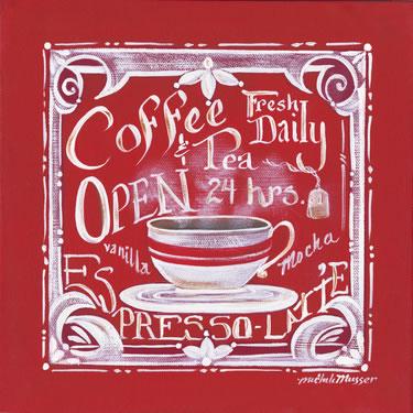 Coffee & Tea Fresh Daily