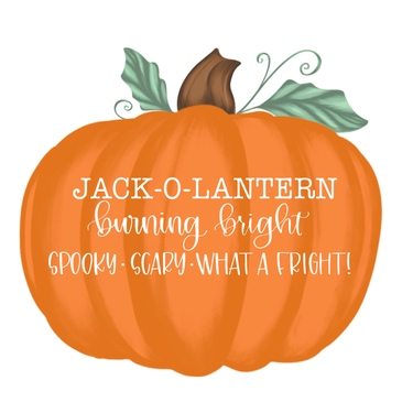 Pumpkin Jack O Lantern Burning Bright
