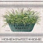 Galvanized Farmer's Market- Home Sweet Home