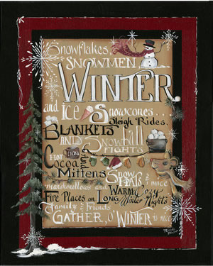 Winter Words